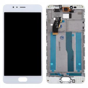 iPartsAcheter Meizu M5s / Meilan 5s écran LCD + écran tactile Digitizer Assemblée avec cadre (blanc) SI634W402-20