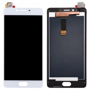 iPartsAcheter Meizu Meilan E2 LCD écran + écran tactile Digitizer Assemblée (Blanc) SI635W429-20