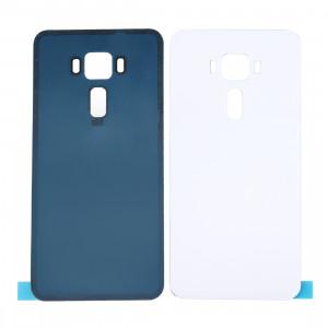 iPartsAcheter pour ASUS ZenFone 3 / ZE552KL 5,5 pouces en verre couvercle de la batterie arrière (blanc) SI71WL482-20