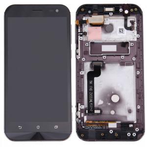 iPartsAcheter pour ASUS ZenFone Zoom 5.5 pouces / ZX551ML LCD écran + écran tactile Digitizer Assemblée avec cadre (Noir) SI70BL825-20