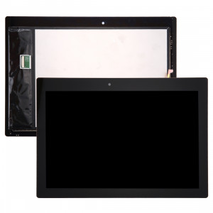 iPartsBuy Lenovo Tab 2 A10-70 / A10-70F LCD Affichage + écran tactile Digitizer Assemblée (Noir) SI07BL1750-20