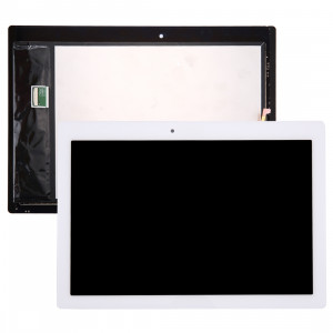iPartsBuy Lenovo Tab 2 A10-70 / A10-70F LCD Affichage + écran tactile Digitizer Assemblée (Blanc) SI07WL189-20