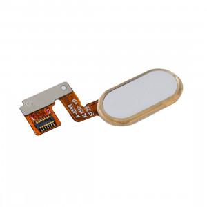 iPartsAcheter Meizu M3 Note / Meilan Note 3 Accueil Bouton / Capteur d'empreintes digitales Câble Flex (14 broches) (Or) SI422J756-20