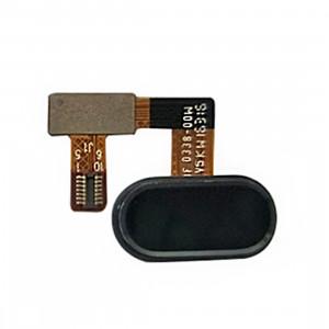 iPartsAcheter Meizu U20 / Meilan U20 Accueil Bouton / Capteur d'empreintes digitales Câble Flex (Noir) SI433B391-20