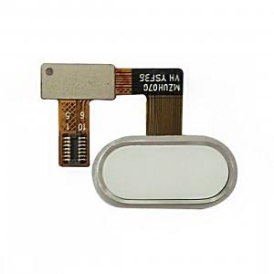 iPartsAcheter Meizu U20 / Meilan U20 Accueil Bouton / Capteur d'empreintes digitales Câble Flex (Blanc) SI433W399-20