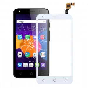 iPartsAcheter pour Alcatel One Touch Pixi 4 5.0 / 5045 Assembleur de numériseur à écran tactile (Blanc) SI508W1790-20