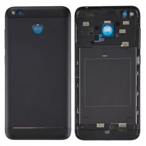 iPartsBuy Xiaomi Redmi 4X couvercle arrière de la batterie (noir) SI28BL1538-20