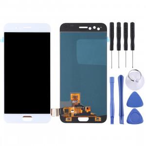 Écran LCD et numériseur Assemblée complète pour OPPO R11 (blanc) SH702W1574-20