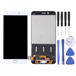 Écran LCD et numériseur complet pour OPPO R9s Plus (Blanc) SH705W463-20