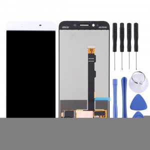 Ecran LCD et numériseur complet pour OPPO R9sk (blanc) SE706W1785-20