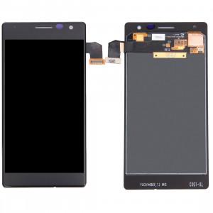 iPartsBuy LCD Écran + Écran Tactile Digitizer Assemblée pour Nokia Lumia 730 (Noir) SI51061743-20