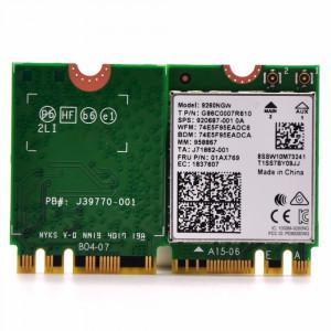 9260NGW Carte réseau sans fil WiFi 5.0 à double bande 802.11ac et 1730Mbps SH52121873-20