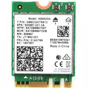 9260NGW Carte neuve pour carte réseau sans fil double bande Intel 9260AC Bluetoth 5.0 5G 1730Mbps Wifi Carte réseau PK 8265/7260/8260 SH52131787-20