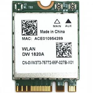 Carte sans fil WiFi DW1820A BCM94350ZAE 802.11ac BT4.1 867Mbps M.2 / NGFF SH52171912-20