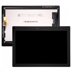 iPartsBuy Lenovo Tab 2 A10-30 / TB2-X30F LCD Affichage + écran tactile Digitizer Assemblée (Noir) SI07BL239-20