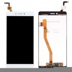 iPartsBuy Lenovo K6 Note Écran LCD + écran tactile Digitizer Assemblée (Blanc) SI410W758-20