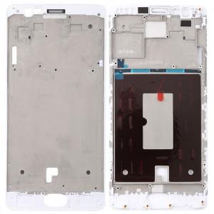 Boîtier avant cadre LCD cadre lunette pour OnePlus 3 / 3T / A3003 / A3000 / A3100 (blanc) SH564W1543-20