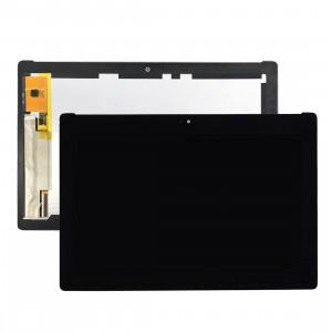 iPartsAcheter pour Asus ZenPad 10 Z300M / P021 (Jaune Câble Flex Version) Écran LCD + Écran Tactile Digitizer Assemblée (Noir) SI01BL1702-20