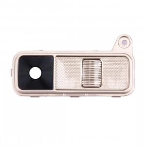 iPartsAcheter pour LG K8 Couvercle de l'objectif de la caméra arrière + bouton d'alimentation + bouton de volume (or) SI004J458-20
