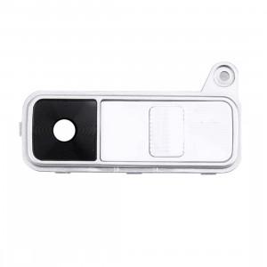 iPartsAcheter pour LG K8 Couvercle de l'objectif de la caméra arrière + bouton d'alimentation + bouton de volume (blanc) SI004W705-20