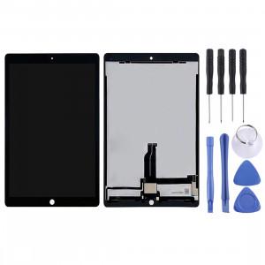 Ecran LCD et numériseur Assemblage complet avec carte pour iPad Pro 12,9 pouces A1584 A1652 (2015) (Noir) SH107B451-20