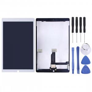 Ecran LCD et numériseur Assemblage complet avec carte pour iPad Pro 12,9 pouces A1584 A1652 (2015) (Blanc) SH107W441-20
