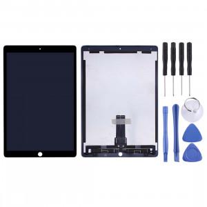 Ecran LCD et assemblage complet du numériseur pour iPad Pro 12,9 pouces A1670 A1671 (2017) (Noir) SH109B1763-20