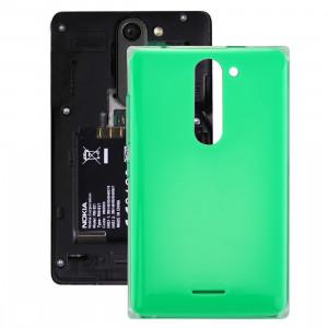 iPartsAcheter pour Coque Arrière pour Nokia Asha 502 Dual SIM (Vert) SI112G1119-20