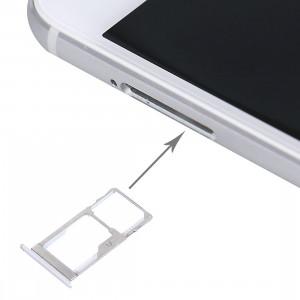 iPartsAcheter Meizu Pro 5 SIM + Carte SIM / Micro SD (Argent) SI147S142-20