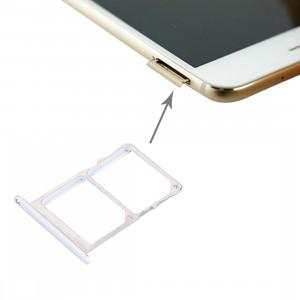 iPartsAcheter Meizu Pro 6 / MX6 Pro Carte SIM + Carte SIM / Micro SD (Argent) SI151S1065-20