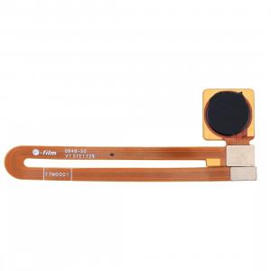 iPartsBuy OnePlus 5T Capteur d'empreintes digitales / Bouton de câble Flex (Noir) SI62031249-20