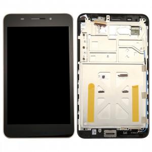 iPartsAcheter pour ASUS MeMO Pad 7 LTE / ME375 écran LCD + écran tactile Digitizer Assemblée avec cadre (Noir) SI84BL612-20