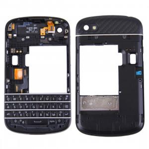 iPartsAcheter 3 en 1 pour BlackBerry Q10 (Clavier + cadre moyen lunette + panneau de lentille de logement de plaque arrière) SI7000554-20