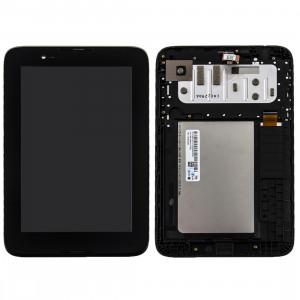 iPartsAcheter Lenovo A7-30 / A3300 écran LCD + écran tactile Digitizer Assemblée avec cadre (Noir) SI04BL1899-20