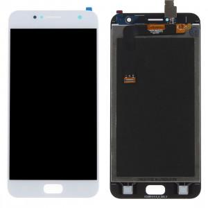 iPartsAcheter pour Asus ZenFone 4 Selfie / ZB553KL LCD écran + écran tactile Digitizer Assemblée (Blanc) SI472W424-20