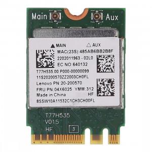 RTL8723BE 300Mbps 802.11n M2 Carte sans fil Mini PCI E WiFi Adaptateur + Bluetooth 4.0 pour Lenovo E450 E550 E555 Y50 04x6025 SH8558107-20