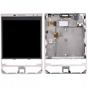 iPartsBuy pour BlackBerry Passport Silver Edition Écran LCD + Écran Tactile Digitizer Assemblée avec Cadre SI754L1368-20