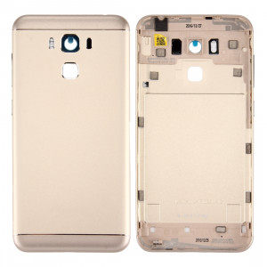 iPartsAcheter pour Asus ZenFone 3 Max / ZC553KL Couverture de batterie en alliage d'aluminium (or) SI78JL1361-20