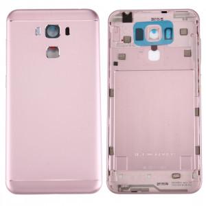iPartsAcheter pour Asus ZenFone 3 Max / ZC553KL Couverture de batterie en alliage d'aluminium (or rose) SI8RGL624-20