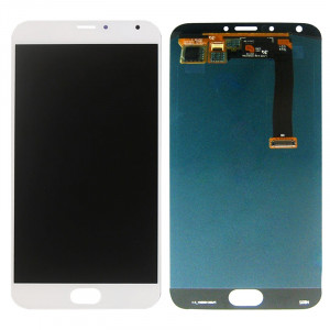 iPartsAcheter Meizu MX5 écran LCD + écran tactile Digitizer Assemblée (blanc) SI171W1222-20