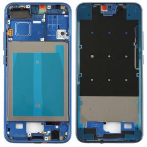 Boîtier avant cadre LCD cadre lunette avec des touches latérales pour Huawei Honor 10 (bleu) SH787L1124-20