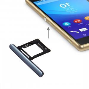 iPartsAcheter pour Sony Xperia XZ Premium (double carte SIM) Micro SD / Carte SIM Bac + Carte Slot Port Dust Plug (Noir) SI698B234-20