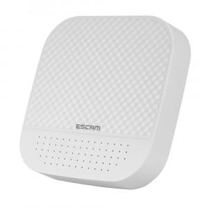 Enregistreur vidéo numérique ESCAM PVR208 1080P 8CH + 2CH ONVIF NVR avec canal Cloud 2CH pour système de caméra IP (blanc) SE024W837-20