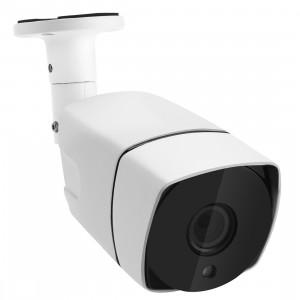 COTIER TV-657H5 / IP MF POE Caméra IP Surveillance Surveillance Manuel à l'intérieur, capteur 5.0MP CMOS, détection de mouvement, P2P / ONVIF, 42 LED Vision nocturne IR 20m (Blanc) SC032W346-20