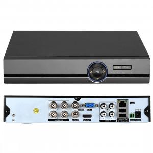 COTIER A41U-ZS 5 en 1 4 canaux Dual Stream H.264 1080N AHD DVR, Prise en charge des signaux AHD / TVI / CVI / CVBS / IP (noir) SC249B56-20