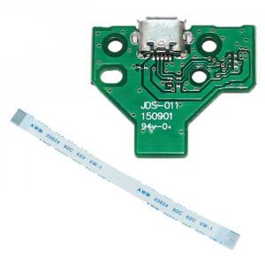 JDD JDS-011 PORTUR DE CHARGEMENT USB USB avec 12 broches FPC Flex Câble pour PS4 SH32751770-20