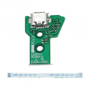 JCD JDS-040 USB Port de chargement avec câble FPC Flex de 12 broches pour PS4 SH32761846-20