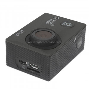 H16 1080P Caméra sport portable sans fil WiFi, écran 2.0 pouces, Generalplus 4248, 170 Grand angle A + degrés, carte TF de support (noir) SH243B0-20