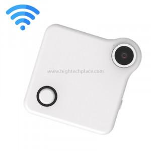 C1 P2P HD 720P Appareil photo WiFi WiFi portable avec clip magnétique, Enregistreur vocal / Détection de mouvement / Télécommande WiFi (Blanc) SC134W8-20