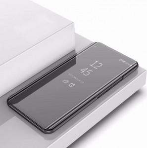 Miroir de protection rabattable à gauche et à droite avec étui de support pour iPhone 11 Pro Max (noir) SH701F1983-20
